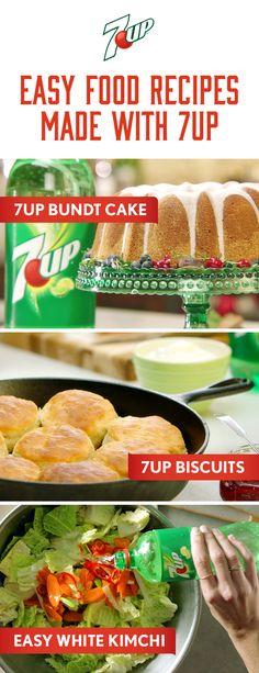 Easy food recipes made with 7UP