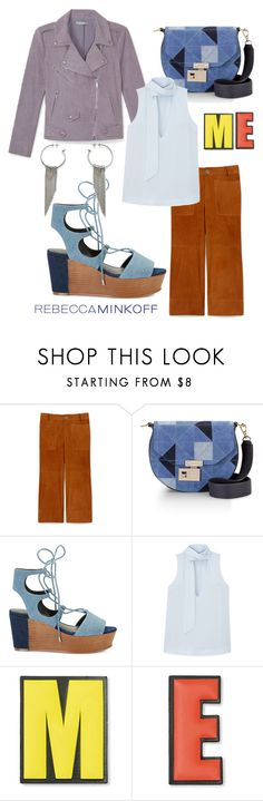 """""""me"""" by ljunique ❤ liked on Polyvore featuring Rebecca Minkoff, women's clothing, women, female, woman, misses, juniors, contestentry, seebuywear and rmspring"""