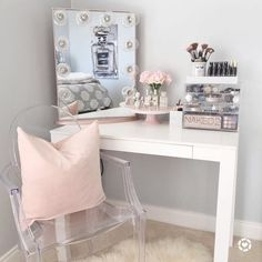 If you love makeup, then you need a makeup vanity table. A vanity table will keep all your makeup organized and will give you a comfortable place to apply it. You can create a makeup area that suits your style.