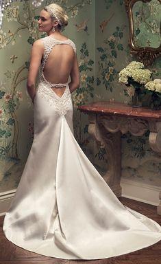 #Wedding Dress by Casablanca Bridal 2016