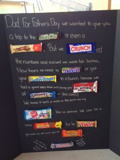 Father's Day card from our daughters