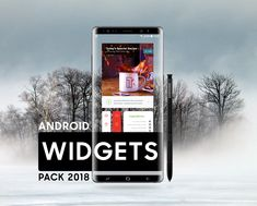 """Check out this @Behance project: """"ANDROID WIDGETS PACK 2018"""" https://www.behance.net/gallery/61426677/ANDROID-WIDGETS-PACK-2018"""