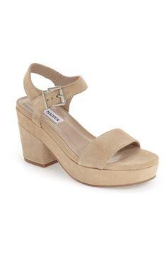 Steve Madden 'Ashlin' Platform Sandal (Women) available at #Nordstrom