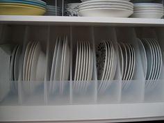 キャビネットの収納見直し ~大皿収納編~ : remiの部屋