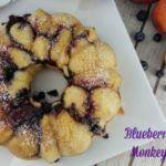 Blueberry Peach Monkey Bread