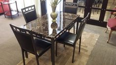 $169.00 for this 5 piece dining room set!