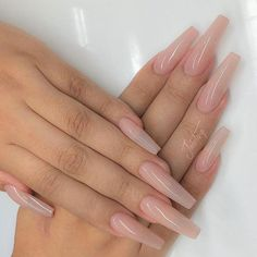 Acrylic Sculpted Full Set with 1 coat of Presto-Arco from - Nails● - Nageldesign Aycrlic Nails, Xmas Nails, Dope Nails, Glitter Nails, Clear Gel Nails, Matte Nails, Fun Nails, Xmas Nail Designs, Acrylic Nail Designs