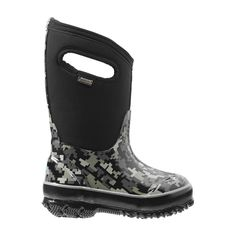 BOGS CLASSIC DIGITAL CAMO KIDS' INSULATED UNISEX SIZE 11 #bogs #Boots