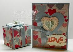 Surprise Box & Tunnel Card, Stampin' Up! products by Debbie Henderson, Debbie's Designs.
