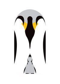 simple illustration using negative space. Simple Illustration, Manga Illustration, Pattern Illustration, Graphic Design Illustration, Graphic Art, Pinguin Drawing, Pinguin Tattoo, Penguin Art, Penguin Love