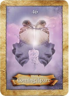 Coming Apart: Guidance for the week of October 17 through October 23, 2016