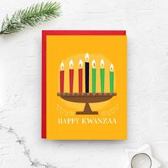 Happy Kwanzaa, Kwanzaa Card