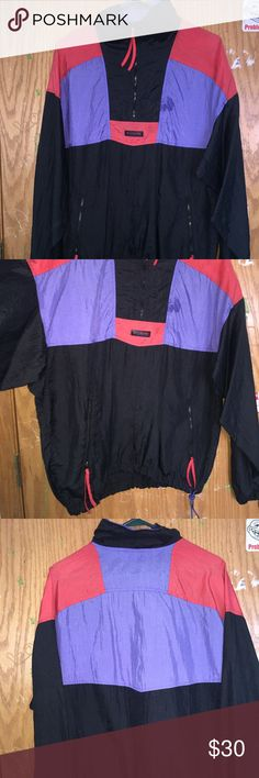 Vintage Columbia Windbreaker Size M in men's, condition is 7/10 since its vintage no flaws just vintage style Columbia Jackets & Coats Windbreakers