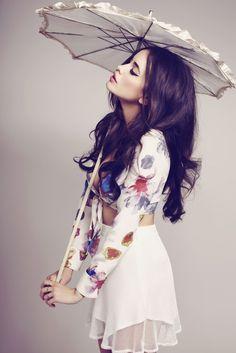 "Photography: Zoey Grossman   Model: Sarah Stephens  Styling: Ashley Glorioso  Hair: Ashlee rose  Makeup: Samuel Paul   ""For Love and Lemons"""