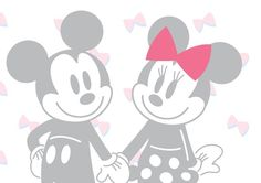 Valentine's Day: Mickey and Minnie in love:)