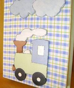 Livro de MDF para guardar documentos do bebê, pode ser feito com vários temas e cores. R$ 49,90