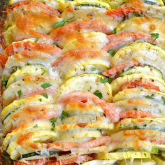 . Summer Vegetable Tian Recipe from Grandmothers Kitchen.