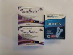 100 Gluco Navii Glucose Test Strips   28 Gauge Lancets diabetes *** This is an Amazon Associate's Pin. Item can be found on the website by clicking the image.