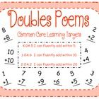 This packet includes 10 Doubles Addition Facts rhyming poems to help students learn and memorize the doubles facts.  Each poem is available as an i...