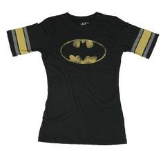 Batgirl Hockey Shirt on www.amightygirl.com