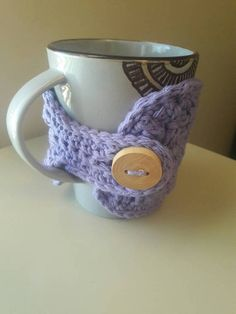 Crochet cup cozy/crochet coffee cup cozy/crocheted cotton cup cozy/mug cozy/mothers day gift/teachers gift/crochet tea cozy/coffee sleeve