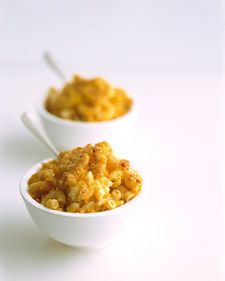 Healthy Macaroni and Cheese- Substitute Quinoa Elbow Macaroni for the noodles and gluten-free breadcrumbs to make the recipe gluten-free.