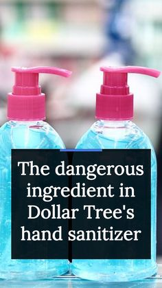 Unfortunately, Dollar Tree is not the only mass retailer that has been caught selling hand sanitizers with the banned substance. Newsweek says Target and Walmart sell potentially tainted hand sanitizers, too. Some of the brands which have been recalled recently include Scent Theory Keep Clean and Keep It Clean, Born Basic, and Lux Eoi hand sanitizers. Target has carried the Born Basic line, while Walmart sold the Scent Theory line. Hand Sanitizer, Dollar Tree, Spray Bottle, Keep It Cleaner, How To Stay Healthy, Theory, Health Tips, Target, Walmart