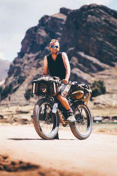 Crossbiking the Cusqueñan Railtrail; Bolivia to Peru.