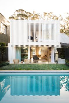 A Cozy Aussie Cottage Hides a Sleek Renovation Behind a Heritage Facade #dwell #australianhomes #homerenovations #cottage Architecture Design, Modern Architecture House, Chinese Architecture, Futuristic Architecture, Sustainable Architecture, Residential Architecture, Amazing Architecture, Exterior Design, Interior And Exterior