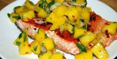 3 Recetas de salmón en salsa que nunca habías probado Fruit Salad, Pork, Ethnic Recipes, Sweet, Mango Salsa, Mindset, Healthy, Kitchens, Food Recipes