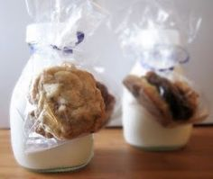 Good Night Stations . . . Send your Guests off in Style with cookies & milk; the perfect 'Bedtime Snack'!