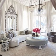 Paying attention to the details of the design is essential in creating a luxury living room interior. Moroccan Decor Living Room, Moroccan Room, Moroccan Interiors, Living Room Interior, Living Room Furniture, Living Room Decor, Moroccan Kitchen, Moroccan Colors, Moroccan Style
