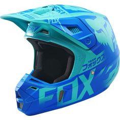 Fox 2016 V2 LE Union Aqua Helmet