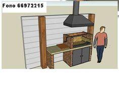 Resultado de imagen para diseño de parrillas para quinchos