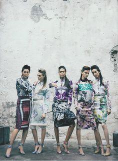 #prints #floral #fashionphotography