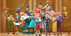 """""""Triff die Robinsons"""" - Kino-Tipp – Der quietschbunte Animationsfilm aus dem Hause Disney bietet Spaß für die ganze Familie."""