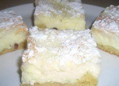 Tvarohovo kokosový koláč