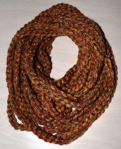 Crochet Chain Infinity Scarfs
