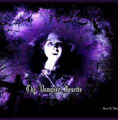 Artist's name is attached. I'm not the only who sees Vampire Josette as fascinating and beautiful. <3