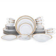 Mikasa® Gold Crown 42-Piece Dinnerware Set