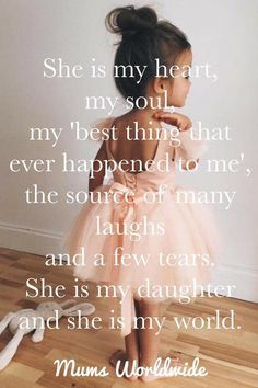 I love my baby girl soo much, stole my heart can't nobody compare. Mother Daughter Quotes, I Love My Daughter, My Beautiful Daughter, Love My Kids, Mother Quotes, Quotes About Daughters, Happy Birthday Daughter From Mom, Daughter Quotes Funny, Mothers Love Quotes