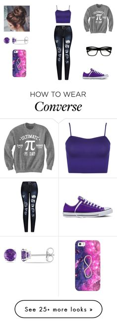 """""""Untitled #1056"""" by cjfulmer on Polyvore featuring Ultimate, 2LUV, WearAll, Converse, Allurez, ZeroUV and Casetify"""