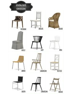 Chair clutter for The Sims 4