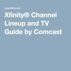12 Best Comcast Xfinity images in 2016 | Comcast xfinity, TVs, A box