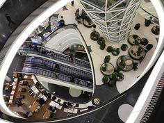 Shopping Mall, Frankfurt Germany: