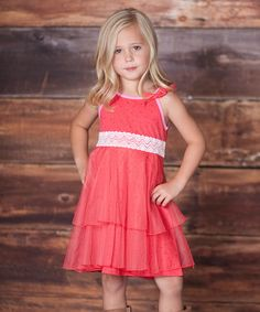 Another great find on #zulily! Raspberry Dancer Dress - Infant & Toddler #zulilyfinds