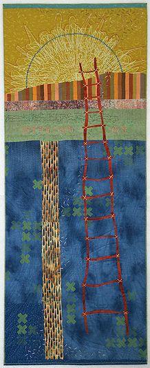 Art Quilt Collage workshop with Deborah Boschert, March 26 to 31 in New Braunfels, TX
