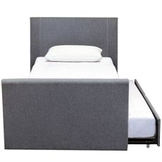 Flynstone King Single Bed (Trundle) | Freedom Furniture and Homewares