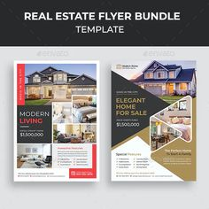 Presentation Magazine, Real Estate Flyer Template, Real Estate Flyers, Brochure Layout, Elegant Homes, Marketing, Business Brochure, Layout Design, Templates