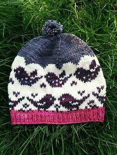 Flieg weg, Hut, Laura Reinbach , Fly away hat laura reinbach , My knitting needles go tiqui tiqui. Yarn Projects, Knitting Projects, Crochet Projects, Crochet Kids Hats, Knitted Hats, Knit Crochet, Knitting Patterns, Crochet Patterns, Diy Hat